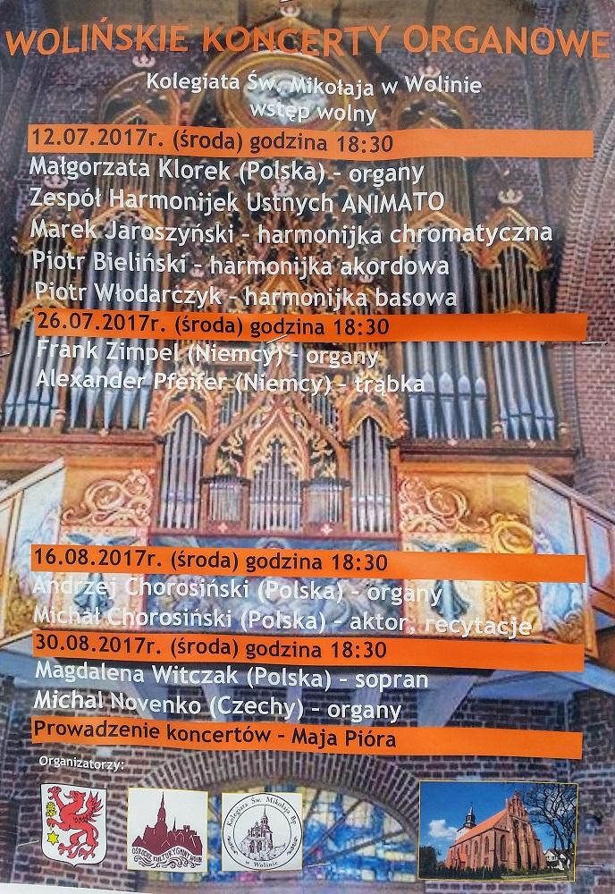 Wolińskie koncerty 2017